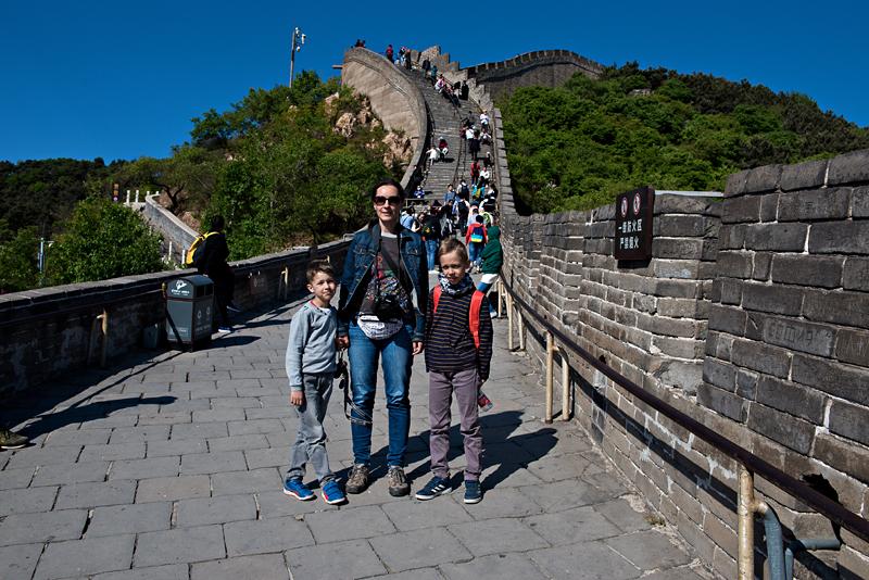 zdjecie-na tle muru chińskiego