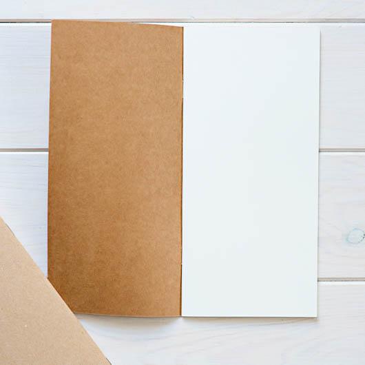 Travel Journal białe kartki