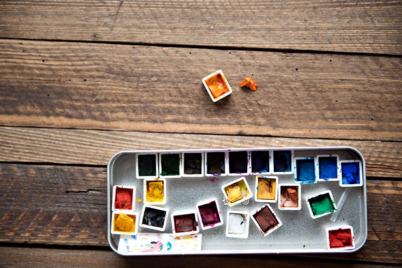 farby akwarelowe