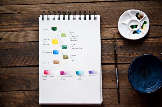 Jak zacząć malować akwarelami?