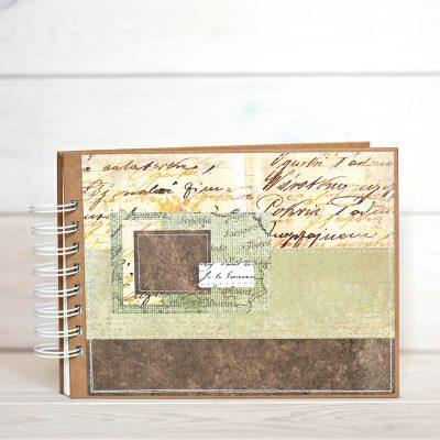 Album na zdjęcia rozmiar 15cmx21cm w kolorystece safari