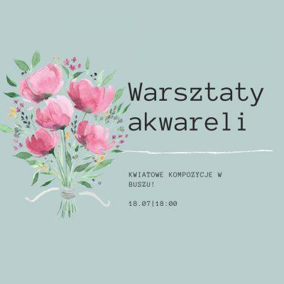 Warsztaty akwareli Kraków