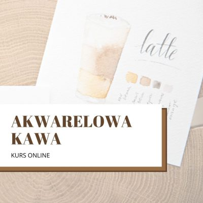kurs akwareli online kawa