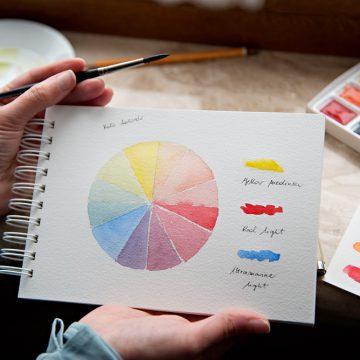 Kolorowy talent show, czyli zrób z nami swoje koło kolorów