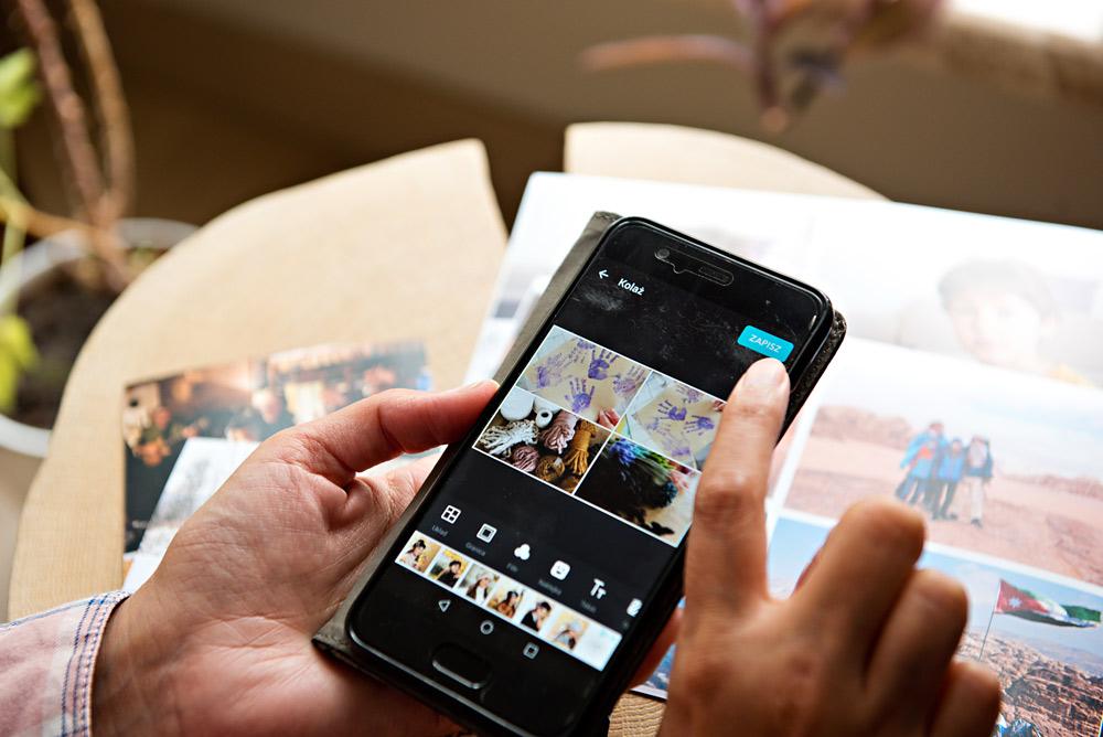 Jak skolażować zdjęcia